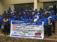 Enhancing girls' education through ICT